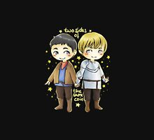 Merthur chibis - two sides of the same coin Unisex T-Shirt