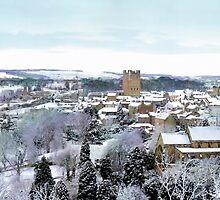 Richmond, Yorkshire by English Landscape Prints