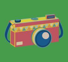 Say Cheese! - retro Camera T-Shirt