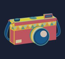 Say Cheese! - retro Camera One Piece - Long Sleeve