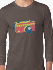 Say Cheese! - retro Camera Long Sleeve T-Shirt