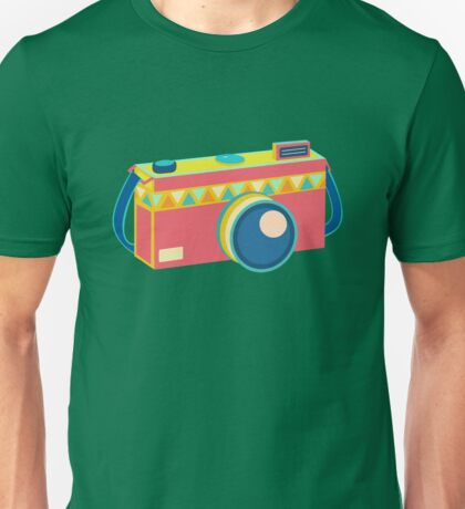 Say Cheese! - retro Camera Unisex T-Shirt