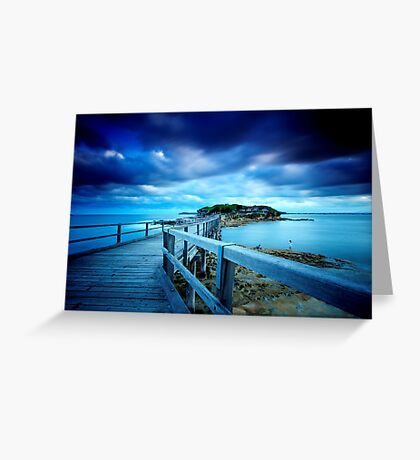 Bare Island  Greeting Card