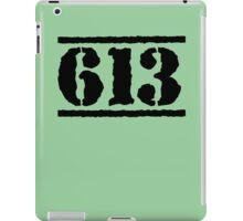 613 ARMY iPad Case/Skin