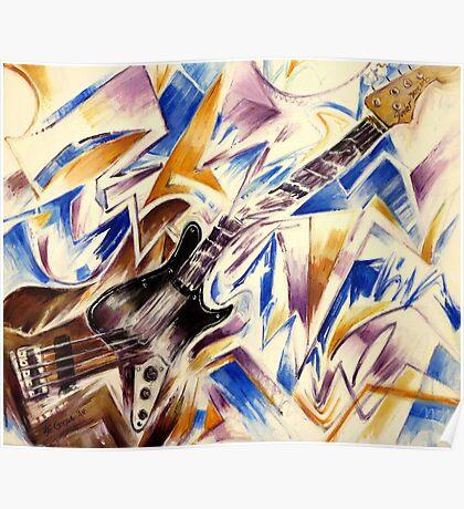 Fender Jazz Bass Poster