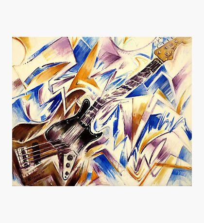 Fender Jazz Bass Photographic Print