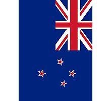 New Zealand Flag Photographic Print