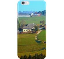 Beautiful traditional farmland scenery II | landscape photography iPhone Case/Skin