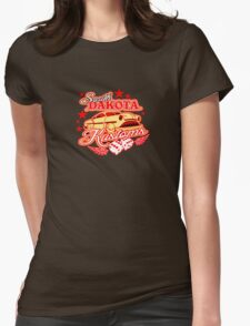 hot rod kustoms Womens Fitted T-Shirt