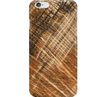Beige leather texture  iPhone Case/Skin