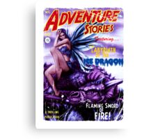 Adventure Stories Labyrinth of the Ice Dragon Canvas Print