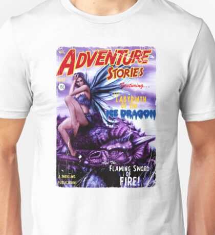 Adventure Stories Labyrinth of the Ice Dragon Unisex T-Shirt