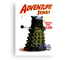Adventure Stories The Ironside from Skaro Canvas Print