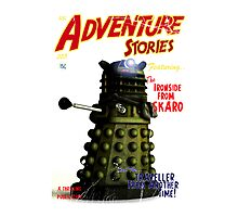 Adventure Stories The Ironside from Skaro Photographic Print