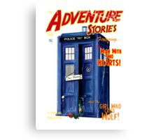Adventure Stories the man with two hearts Canvas Print