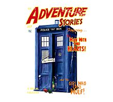Adventure Stories the man with two hearts Photographic Print