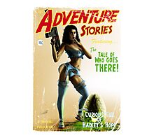 Adventure Stories The Tale of who Goes There Photographic Print