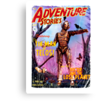 Adventure Stories The Tin Man of Telos Canvas Print