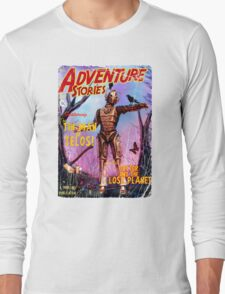 Adventure Stories The Tin Man of Telos Long Sleeve T-Shirt