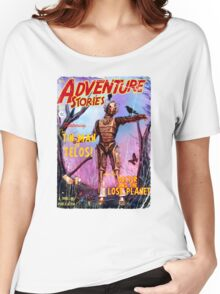 Adventure Stories The Tin Man of Telos Women's Relaxed Fit T-Shirt
