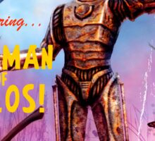 Adventure Stories The Tin Man of Telos Sticker
