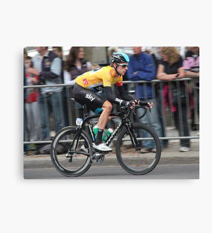 Bradley Wiggins - Tour of Britain 2013 Canvas Print