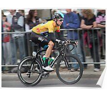 Bradley Wiggins - Tour of Britain 2013 Poster