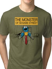 The Monster of Sesame Street Tri-blend T-Shirt