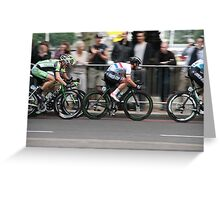Mark Cavendish Tour of Britain 2013 Greeting Card