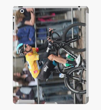 Bradley Wiggins - Tour of Britain 2013 iPad Case/Skin