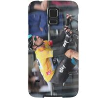 Bradley Wiggins - Tour of Britain 2013 Samsung Galaxy Case/Skin