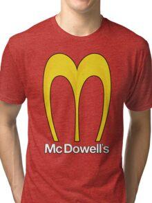 McDowell's - Home of the Big Mick Tri-blend T-Shirt
