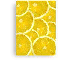 Vivid Lemons Canvas Print