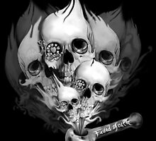Faded Youth Smoke Skulls by KristyPatterson