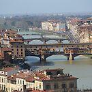 Florence Bridges, Italy by MelTho