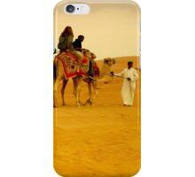 desert life in dubai iPhone Case/Skin