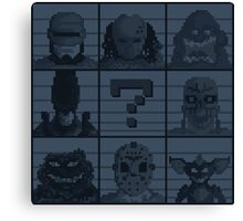 Select your character Canvas Print
