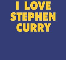 I LOVE STEPHEN CURRY Golden State Warriors Basketball Womens Fitted T-Shirt