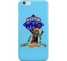 Ducktor Who iPhone Case/Skin