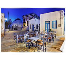 Have a seat in Serifos Poster