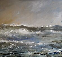 High Seas and Gulls by Sue Nichol