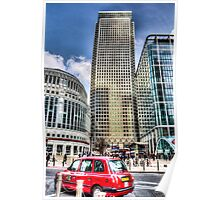 Canary Wharf London Poster