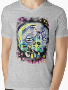 aerosol skull Mens V-Neck T-Shirt