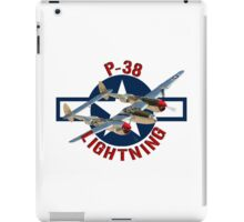 P-38 Lightning  iPad Case/Skin