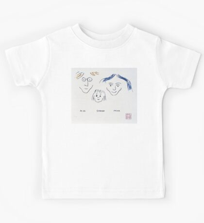 John, Sean and Yoko kids shirt Kids Tee