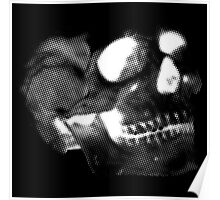 Skull White Poster