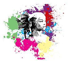 Khaleesi Colour Splash Photographic Print