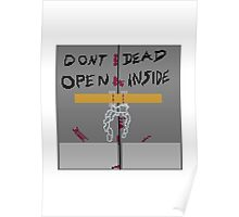 The walking dead - Dont open, Dead inside Poster