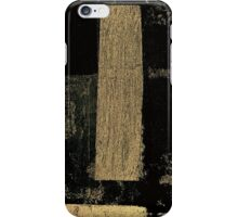 YELLOW GRUNGE PHONE CASE iPhone Case/Skin