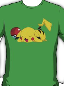 Sleeping Pikachu T-Shirt
